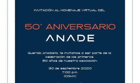 Festejo de 50° Aniversario de la ANADE