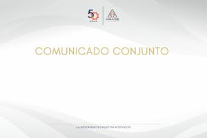 COMUNICADO CONJUNTO